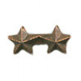 Bronze Star - 3/16 inch  - Double Cluster