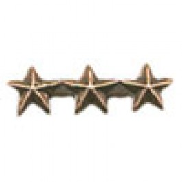 Bronze Star – 3/16 inch - Triple Cluster
