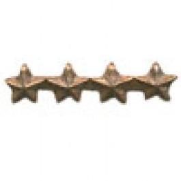 Bronze Star – 3/16 inch - Quadruple Cluster