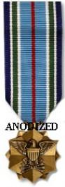 Joint Service Achievement Medal - Mini Anodized