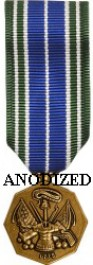 Army Achievement Medal - Mini Anodized
