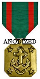 Navy and Marine Corps Achievement Medal - Large Anodized