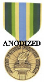 Armed Forces Service Medal - Large Anodized