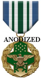 Joint Service Commendation Medal - Large Anodized