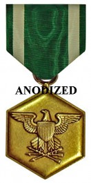 Navy and Marine Corps Commendation Medal - Large Anodized