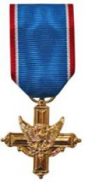 Distinguished Service Cross Medals-Mini Anodized for Army Service