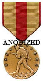 Marine Corps Expeditionary Medal - Large Anodized