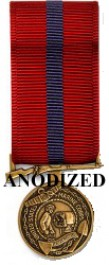 Good Conduct Medal - Mini Anodized