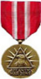 Merchant Marine Atlantic War Zone Medal Medal - Large for Merchant Marine Service