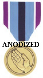 Humanitarian Service Medal - Large Anodized