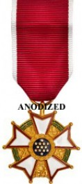 Legion of Merit Medal - Mini Anodized