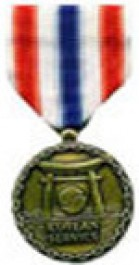 Merchant Marine Korea Medal Medal - Large for Merchant Marine Service