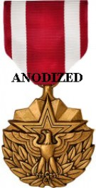 Meritorious Service Medal - Large Anodized