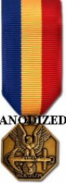 Navy and Marine Corps Medal - Mini Anodized