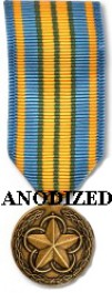 Military Outstanding Volunteer Service Medal - Mini Anodized