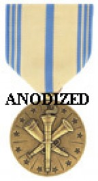 Armed Forces Reserve Medal - National Guard - Large Anodized