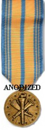 Armed Forces Reserve Medal - National Guard - Mini Anodized
