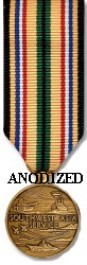 Southwest Asia Campaign Medal - Mini Anodized