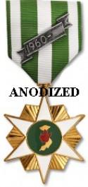 Vietnam Campaign Medal - Large Anodized
