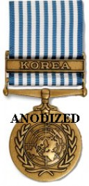 United Nations Service Medal - Large Anodized