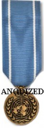 United Nations Observer Medal - Mini Anodized