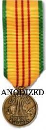 Vietnam Service Medal - Mini Anodized