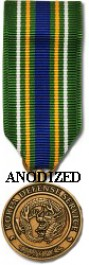 Korea Defense Service Medal - Mini Anodized