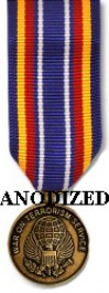 Global War on Terrorism Service Medal - Mini Anodized