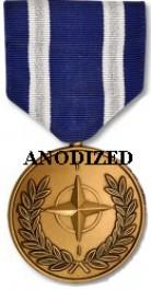 NATO (ISAF) Medal - Large Anodized