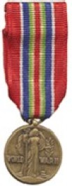 Merchant Marine Victory Medal - WWII Medal - Mini for Merchant Marine Service