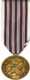 Public Health Service Hazardous Duty Medal - Mini for Public Health Service Service