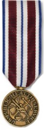 PHS Isolated/Hardship Medal - Mini