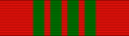 French Croix De Guerre - WWII Thin Ribbon