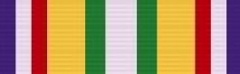 Merchant Marine Med-Mid East War Zone Ribbon for Merchant Marine Service