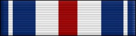 Silver Star Thin Ribbon
