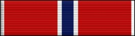 Bronze Star Thin Ribbon