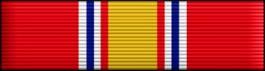 National Defense Thin Ribbon
