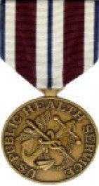 PHS Isolated Hardship Medal - Large for Public Health Service Service