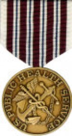 PHS Hazardous Duty Medal - Large for Public Health Service Service