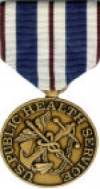PHS Foreign Duty Medal - Large for Public Health Service Service