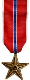 Bronze Star Medal - Mini
