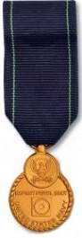 Navy Pistol Expert Medal - Mini