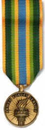 Armed Forces Service Medal - Mini