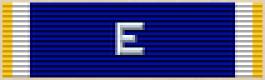 """Navy """"E"""" Ribbon - Thin Ribbon"""