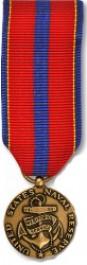 Naval Reserve Meritorious Service Medal - Mini