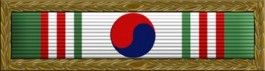 Korean Presidential Unit Citation Thin Ribbon