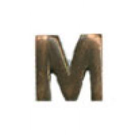 'M' 1/8 inch, Bronze Device