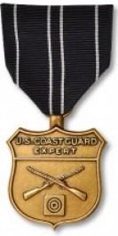 Coast Guard Rifle Expert Medal - Large