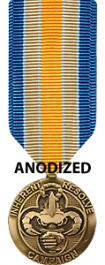 Inherent Resolve Medal - Miniature Anodized