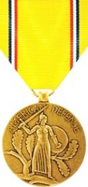 American Defense Service Medal - Large